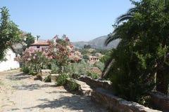 Sirince,老土耳其村庄 库存照片
