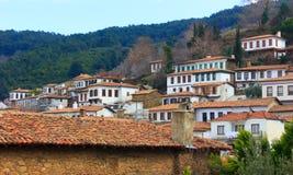 Sirince Dorf Stockbild