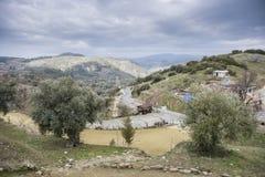Sirince-Dorf-Einfassungen in der Türkei lizenzfreies stockfoto