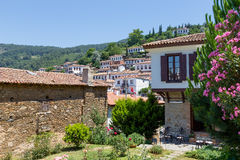 Sirince-Dorf, Izmir-Provinz, die Türkei Lizenzfreies Stockbild