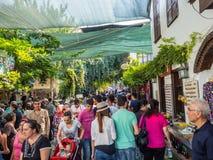 Sirince Greek village in Turkey. royalty free stock images