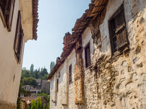 Sirince Greek village in Turkey. Royalty Free Stock Photography