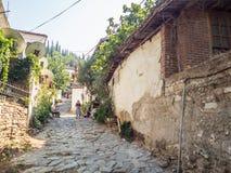 Sirince Greek village in Turkey. Stock Photo