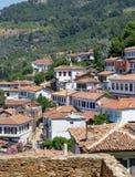 Sirince by, Izmir landskap, Turkiet Royaltyfri Bild
