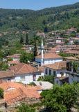 Sirince by, Izmir landskap, Turkiet Arkivfoto