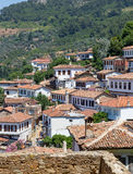Sirince village, Izmir Province, Turkey. Sirince is a village of 600 inhabitants in İzmir Province, Turkey, located about 6 kilometres east of the town Selçuk Royalty Free Stock Image