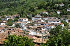 Sirince Village in Izmir, Turkey. Sirince Village in Selcuk, Izmir City, Turkey Stock Photo