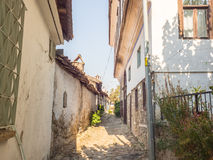 Sirince vintage alley walk way. Stock Images