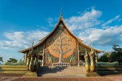 Sirindhorn Wararam Phu Prao Temple Royalty Free Stock Images