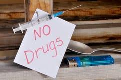 Siringa medica a gettare Immagini Stock Libere da Diritti