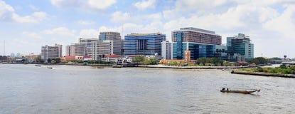 Siriraj hospital is the first hospital and medical shool in Thai. Bangkok - February 21, 2015: Siriraj hospital is the first hospital and medical school in Royalty Free Stock Image
