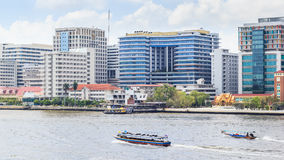 Siriraj hospital is the first hospital and medical shool in Thai Stock Photography