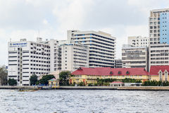 Siriraj hospital is the first hospital and medical shool in Thai Royalty Free Stock Photo