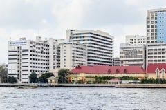 Siriraj hospital is the first hospital and medical shool in Thai. Bangkok - February 21, 2015: Siriraj hospital is the first hospital and medical school in Royalty Free Stock Photo