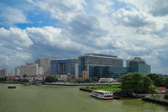 Sirirat Hospital, a major government hospital in Bangkok, Stock Photo