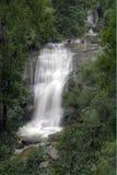 Sirithan瀑布,清迈,泰国 免版税库存图片