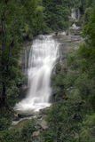 Sirithan vattenfall, Chiang Mai, Thailand Royaltyfria Bilder
