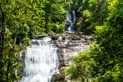 Sirithan waterfall chiangmai Thailand Royalty Free Stock Photography