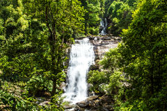 Sirithan waterfall chiangmai Thailand Stock Photo