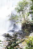 Sirithan waterfall in Doi Inthanon , Chomthong chaingmai Thaland Stock Image