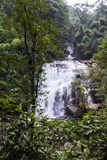 Sirithan waterfall in Doi Inthanon National park, Chiang Mai Thailand. Sirithan waterfall in Doi Inthanon National park , Chiang Mai Thailand Royalty Free Stock Images