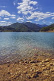 Siriu湖,罗马尼亚 图库摄影