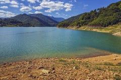 Siriu湖,罗马尼亚 库存图片