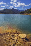 Siriu湖,罗马尼亚 免版税库存照片