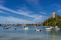 Sirius Cove in Sydney stockfotografie