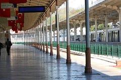 Sirkeci火车站,伊斯坦布尔,土耳其 免版税库存图片