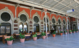 Sirkeci火车站,伊斯坦布尔 免版税库存照片