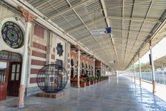 Sirkeci järnvägsstation, Istanbul, Turkiet royaltyfria foton