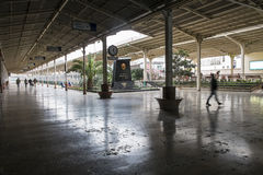 Sirkeci railway Station in Istanbul Stock Images