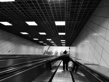 Sirkeci-Station Gehen zu Marmaray Istanbul Die Türkei Lizenzfreie Stockfotografie