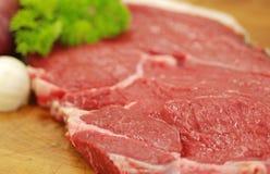 Sirloin da carne Fotos de Stock Royalty Free