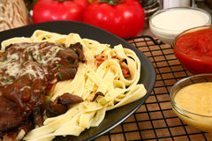 Sirloin Fettuccine Stock Photography