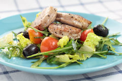Sirloin salad. Stock Images
