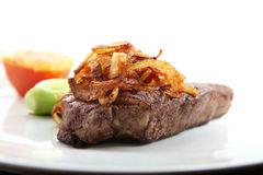 Sirloin steak Stock Photography