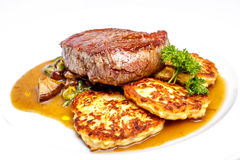 Sirloin steak Royalty Free Stock Photography