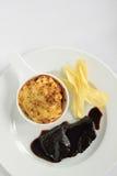 Sirloin steak meal Royalty Free Stock Photos