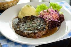 Sirloin steak Stock Images