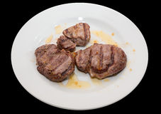 Sirloin steak Stock Images