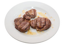 Sirloin steak Stock Photos