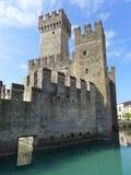 Sirmione城堡 免版税库存照片