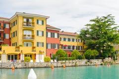 Sirmione,湖Garda,意大利 库存照片