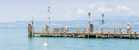 Sirmione,湖Garda,意大利 免版税库存照片