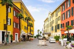Sirmione,湖Garda,意大利 库存图片