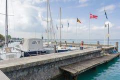 Sirmione,湖Garda,意大利 免版税库存图片