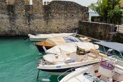 Sirmione,湖Garda,意大利 图库摄影