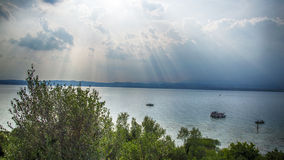 Sirmione Ιταλία Στοκ φωτογραφία με δικαίωμα ελεύθερης χρήσης